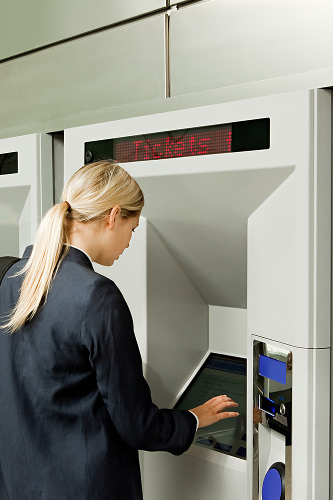 Point of sale enclosures (POS), Web parcel collection lockers + Ticket machines